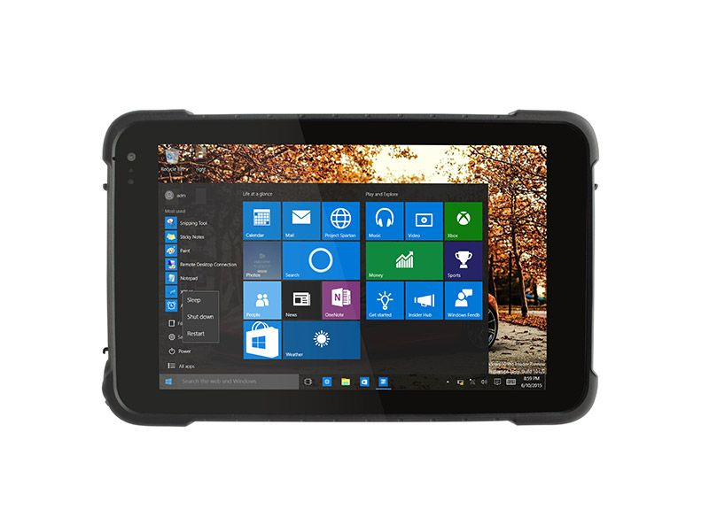 IP67 Waterproof Android Tablet 8 inch Industrial Rugged Tablet PC