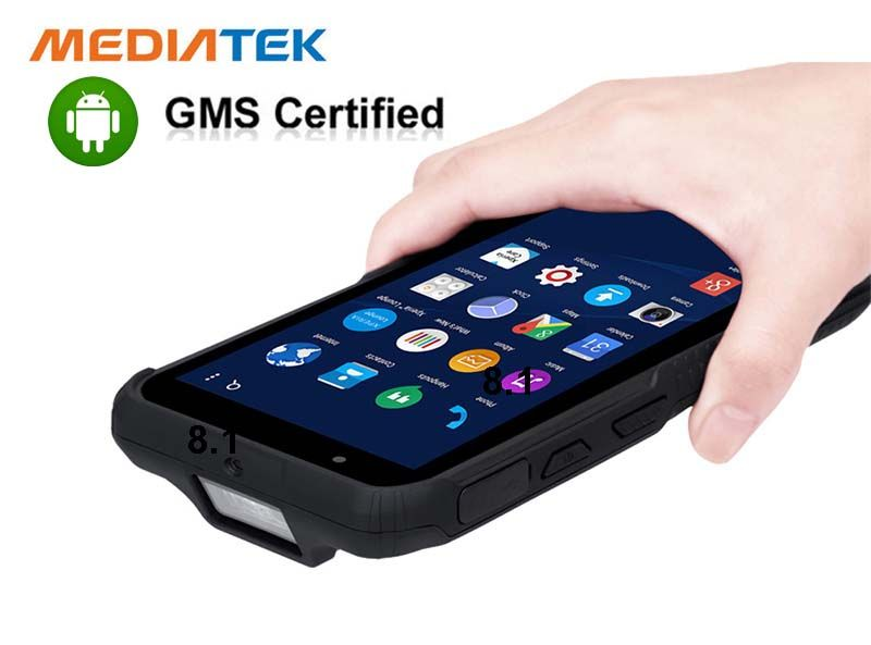 Handheld Mobile Device 6 Inch Rugged PDA Win 10 Barcode Scanner