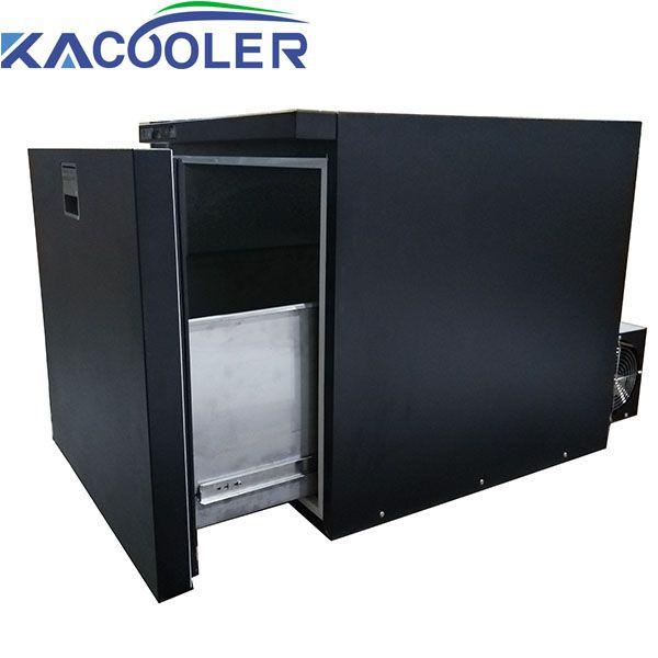 DC AC Drawer Refrigerator DC Compressor Car Refrigerator AC Hotel Bar Refrigerator