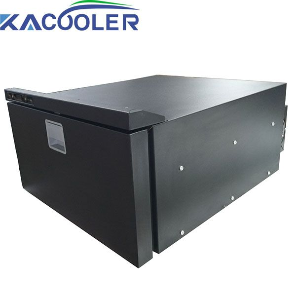 Kacooler DC-40DR  Portable Refrigerator/Freezer 45 Liter Vehicle, Car, Truck,RV, Boat, Mini Fridge Freezer for Driving, Travel, Fishing, 12/24V DC