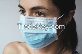 White Cotton Safety Air Pollutionear Breathing Valve Coronovirus Loop Dust Mouth Face Masks