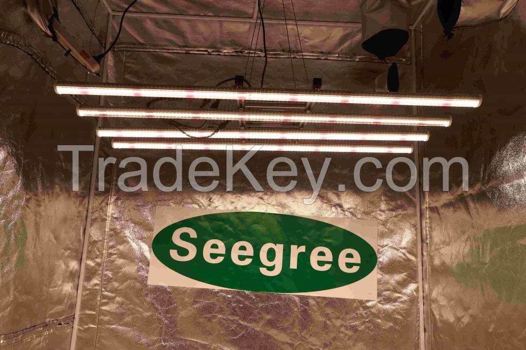 New design Samsung chips Spider fluence Full spectrum 250W LED Grow Bar for Medical Seeding plant