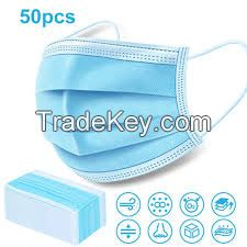 Spot fast delivery 3-layer face protection anti-virus disposable medical mask
