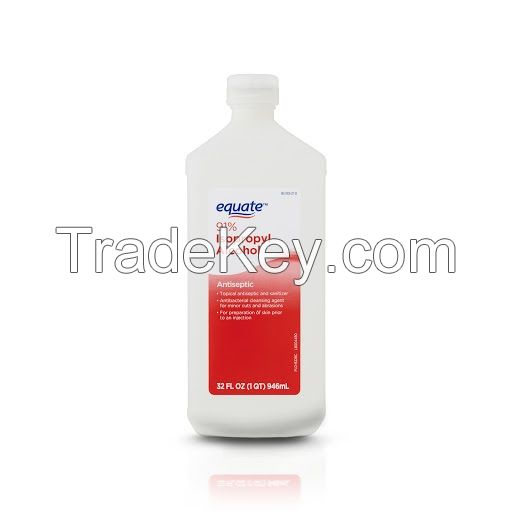 Pharmaceutical Grade IPA 99.9% purity Isopropanol, isopropyl alcohol 67-63-0 for Medical Grade