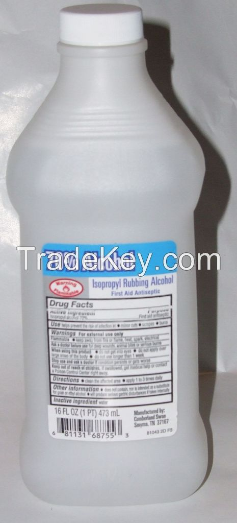 Industrial / Pharmaceutical / Cosmetic / Food Grade Ethyl Alcohol 95 96 99.9%