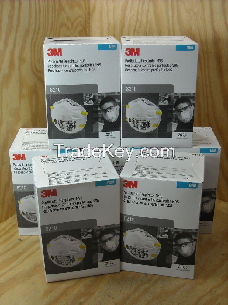 3M N95 Particulate Respirator Face Mask, FFP1, FFP2, FFP3 Reespirators