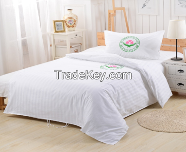 White flannelette draw sheet for single beds