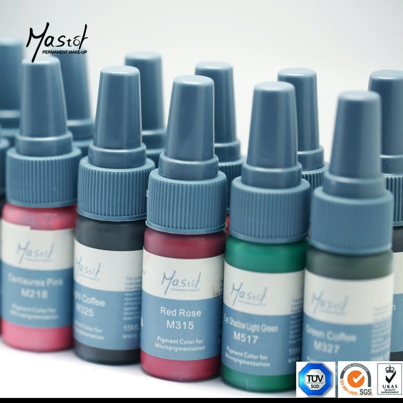 Permanent Makeup Tattoo Pigment Ink Supply