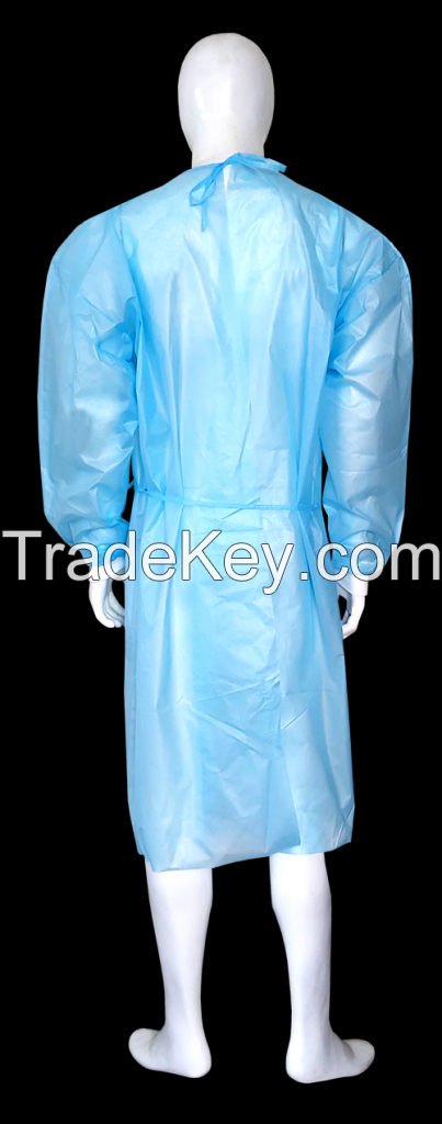 Hospital Isolation Gown - Fluid Proof - Level II and Level III