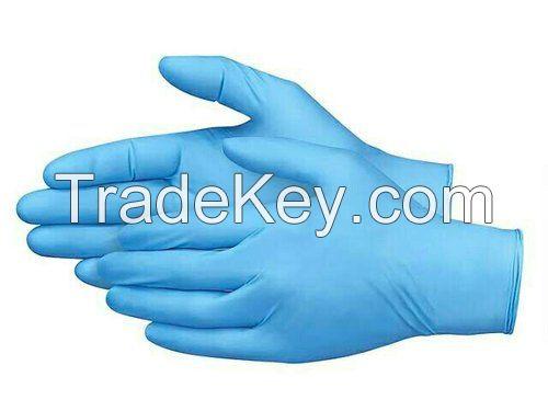 Blue Black White Disposable Examination Medical Nitrile Glove Powder Free Surgical Latex Nitrile Gloves