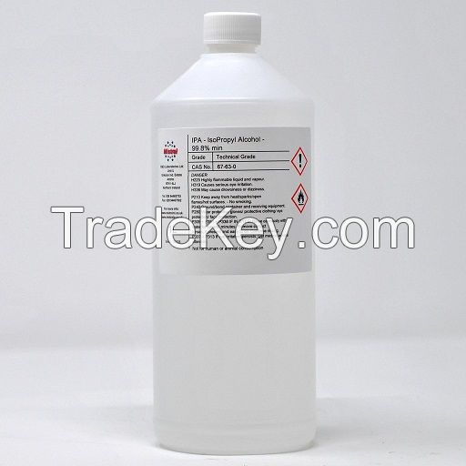 High Quality 99.9% 70% Isopropyl alcohol with good price