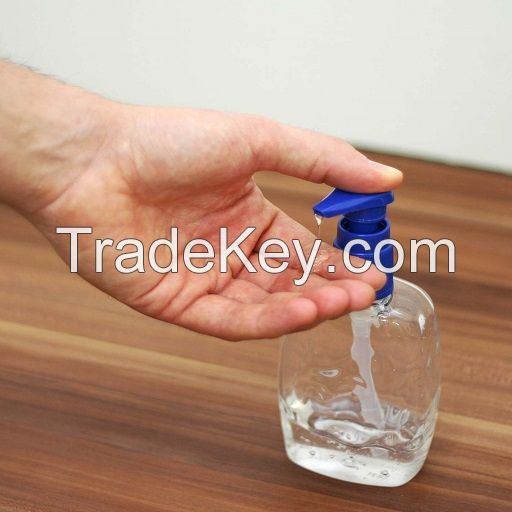 OEM wholesale 500ml anti bacterial 75% Alcohol Gel liquid hand sanitizer gel