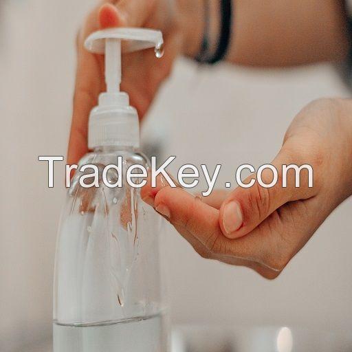 FDA approved medical grade 8oz hand sanitizer for hospitals waterless hand sanitizer gel with pump