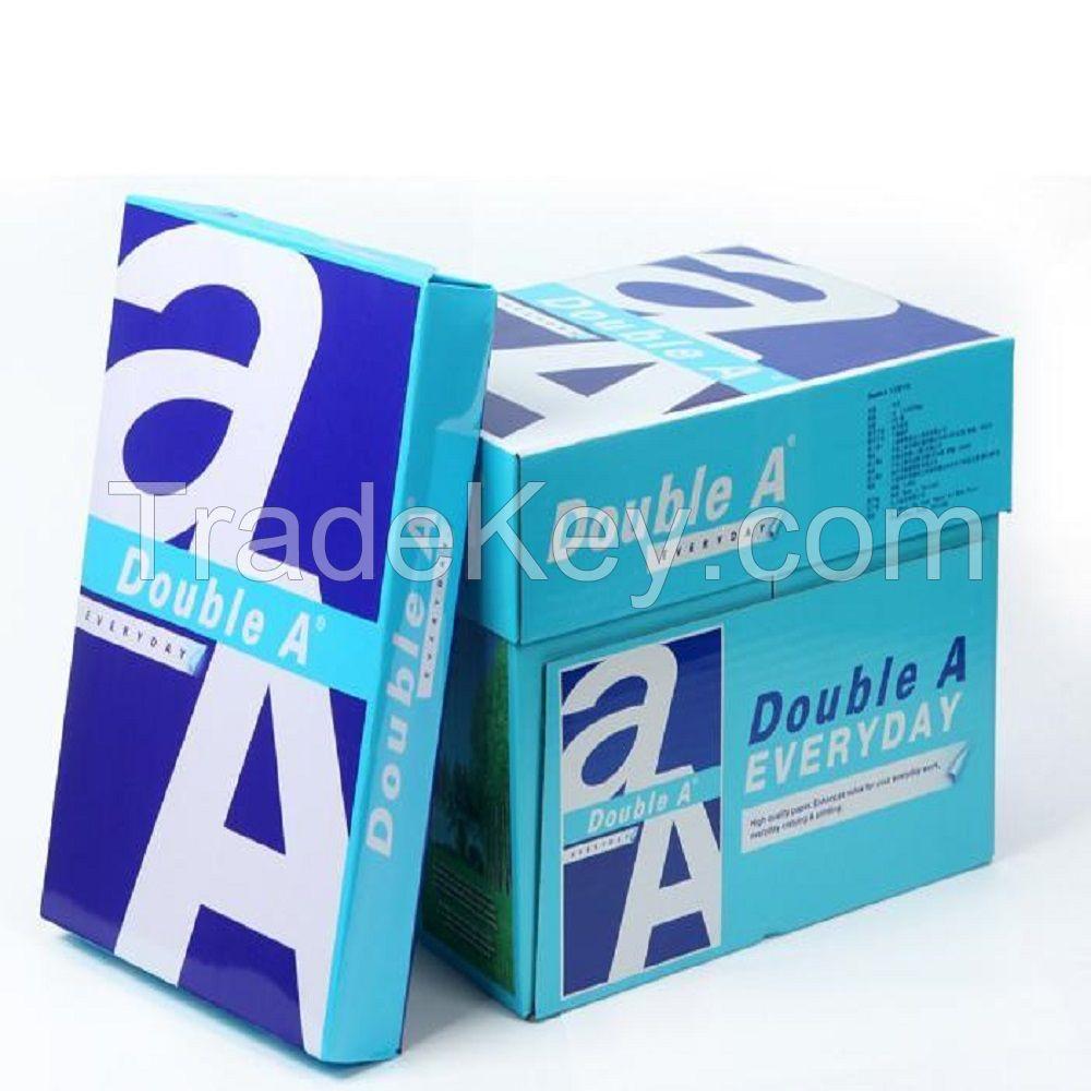 Hot Sale!! Premium Double A A4 Paper/ Super White A4 Copy Paper 80gsm 75gsm 70gsm Manufacturer in Thailand