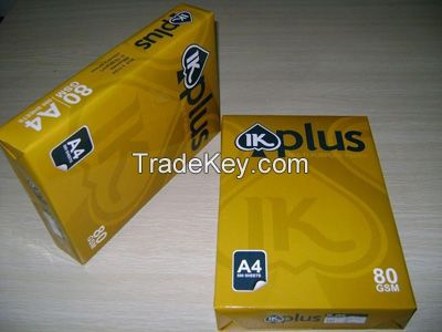Double A Copy Paper A4 80 gsm, 75 gsm, 70 gsm 500 sheets Thailand manufacturer