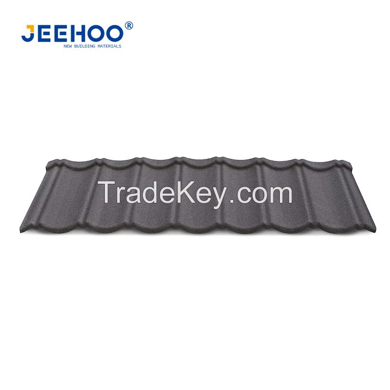 Stone Coated Steel Roofing Metal Shingles Metal Roofing Tiles