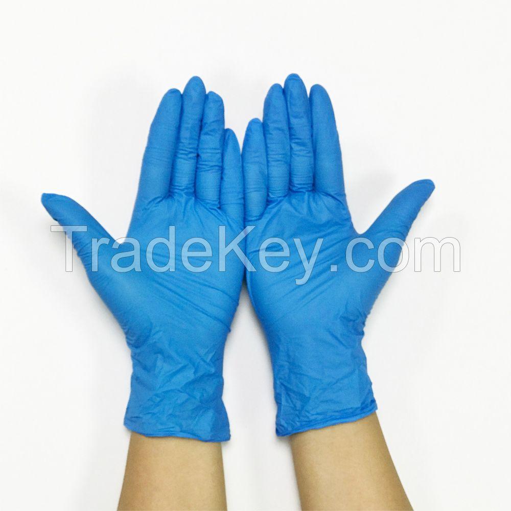 Nitrile powder free gloves