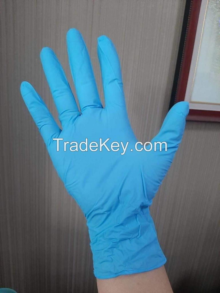 Hand Disposable Nitrile Gloves