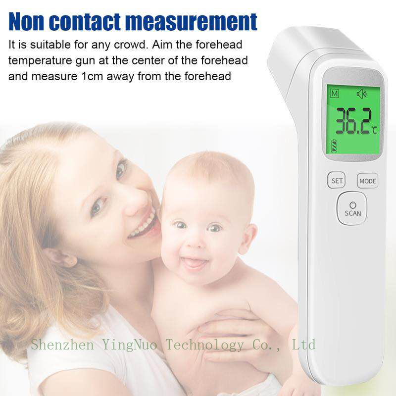 Digital Infrared Forehead Thermometer More Accurate Medical Fever Body temporal temperature Thermometer