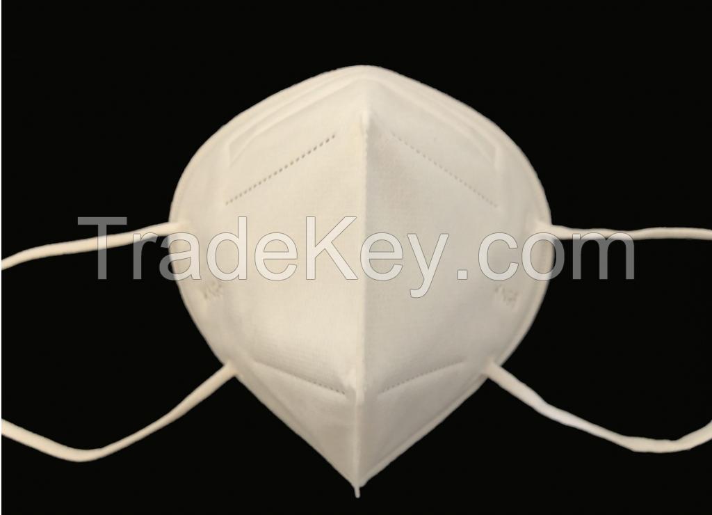 FoldableKN95  Disposable Non Woven 5-ply Respirator Mouth Mask FFP2 KN95