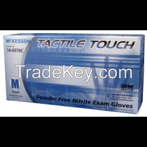 good quakity McKesson Tactile Touch Nitrile Exam Gloves