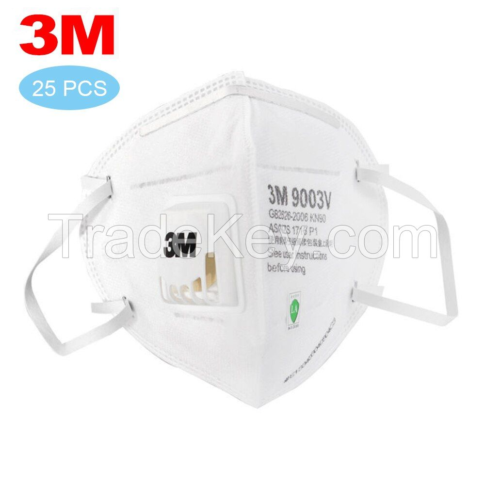 Hot sale disposable folded shape anti dust non-woven earloop 7ply face mask