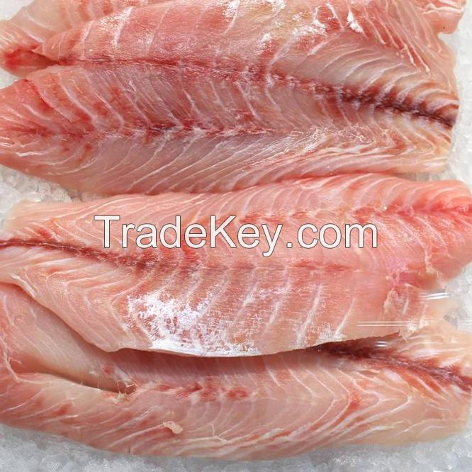 Good Quality trimmed, skinless, boneless frozen Pangasius fillet