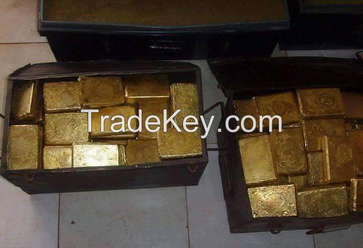 Gold Bars, Gold Nuggets, Gold Sludge, Au Gold Bullion, Raw Gold