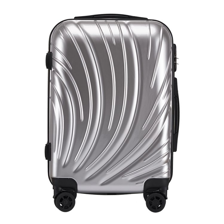 Make China spinner wheels ABS hard luggage sets carry-on luggage wholesale