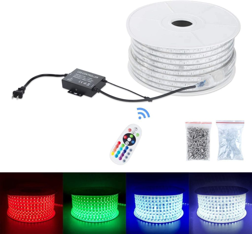 ETL CE 5050SMD 60P RGB LED Strip light
