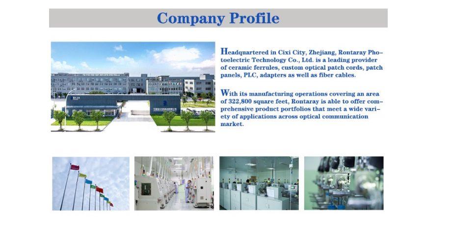 SC/ST UPC ceramic ferrules with flange concentricity 0.5um