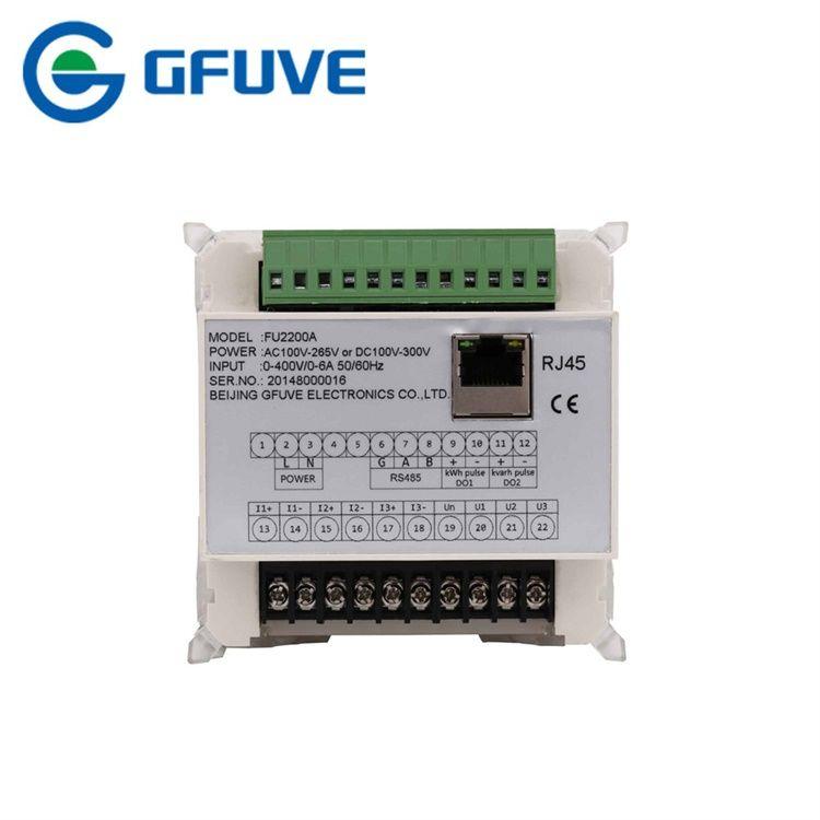 FU2200A 0.5S Three Phase Digital Power Analyzer Meter RS485 Modbus TCP/IP Ethernet Panel Power Meter