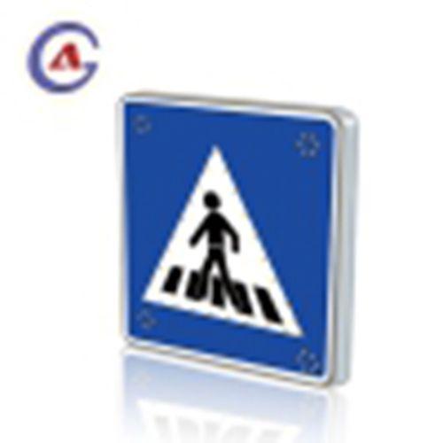 Solar Pedestrian LED Traffic Sign Road Warning Sign
