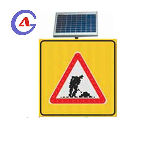 Aluminum Square Traffic Safety Construction Guiding Sign