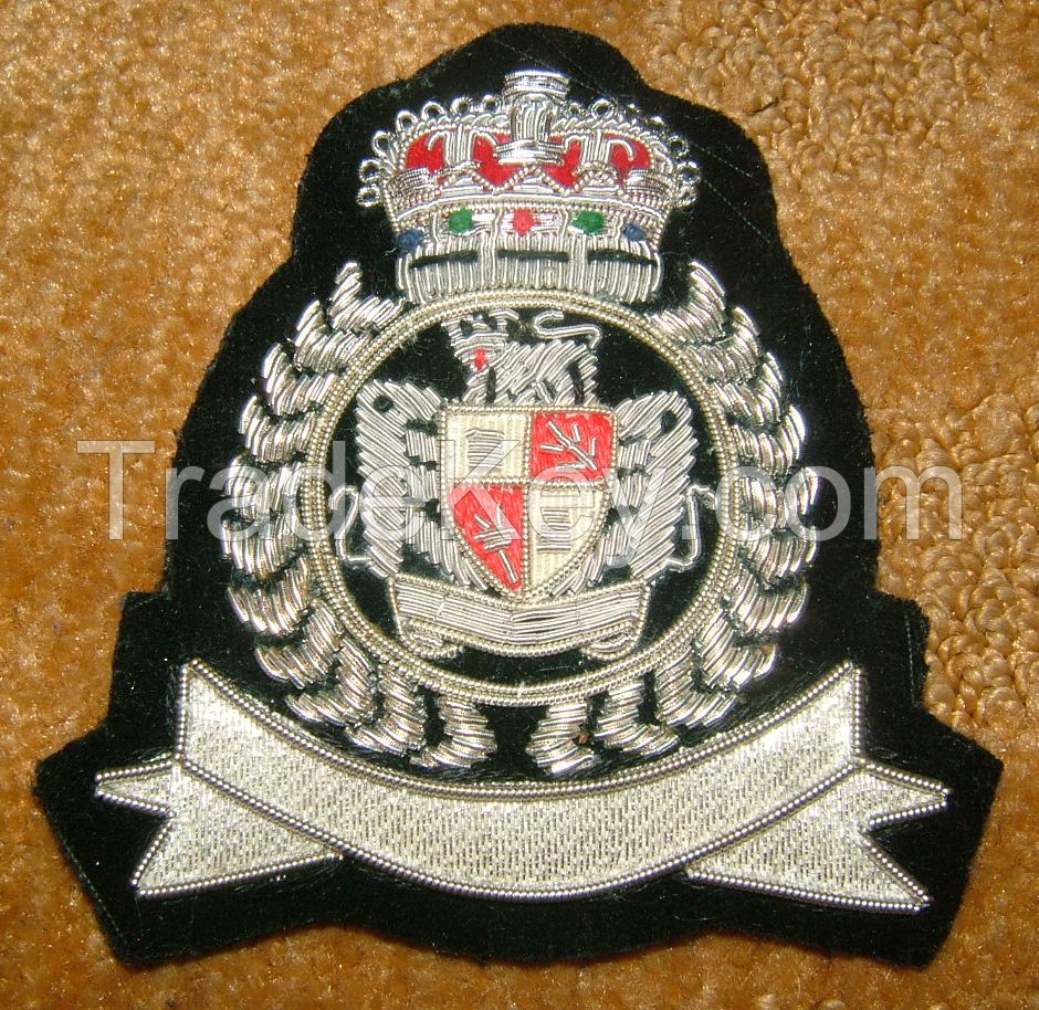 SCARVES , STOLES , HAND EMBROIDERED BADGES