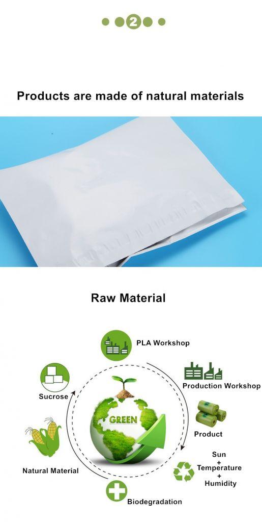Biodegradable Self Sealing Bag