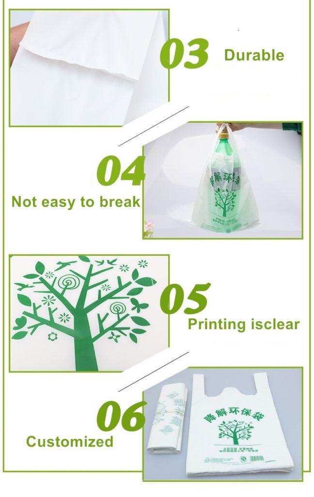 Biodegradable T Shirt Bag