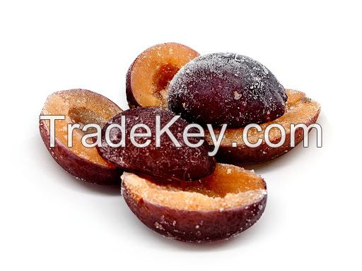 ORGANIC AND CONVENTIONAL IQF PLUM