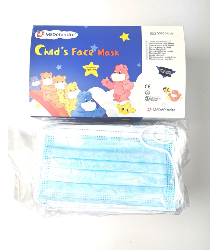 Child's Face Mask FDA CE Approved medical mask student's mask 3 Ply With EN14683 Type IIR Certificate