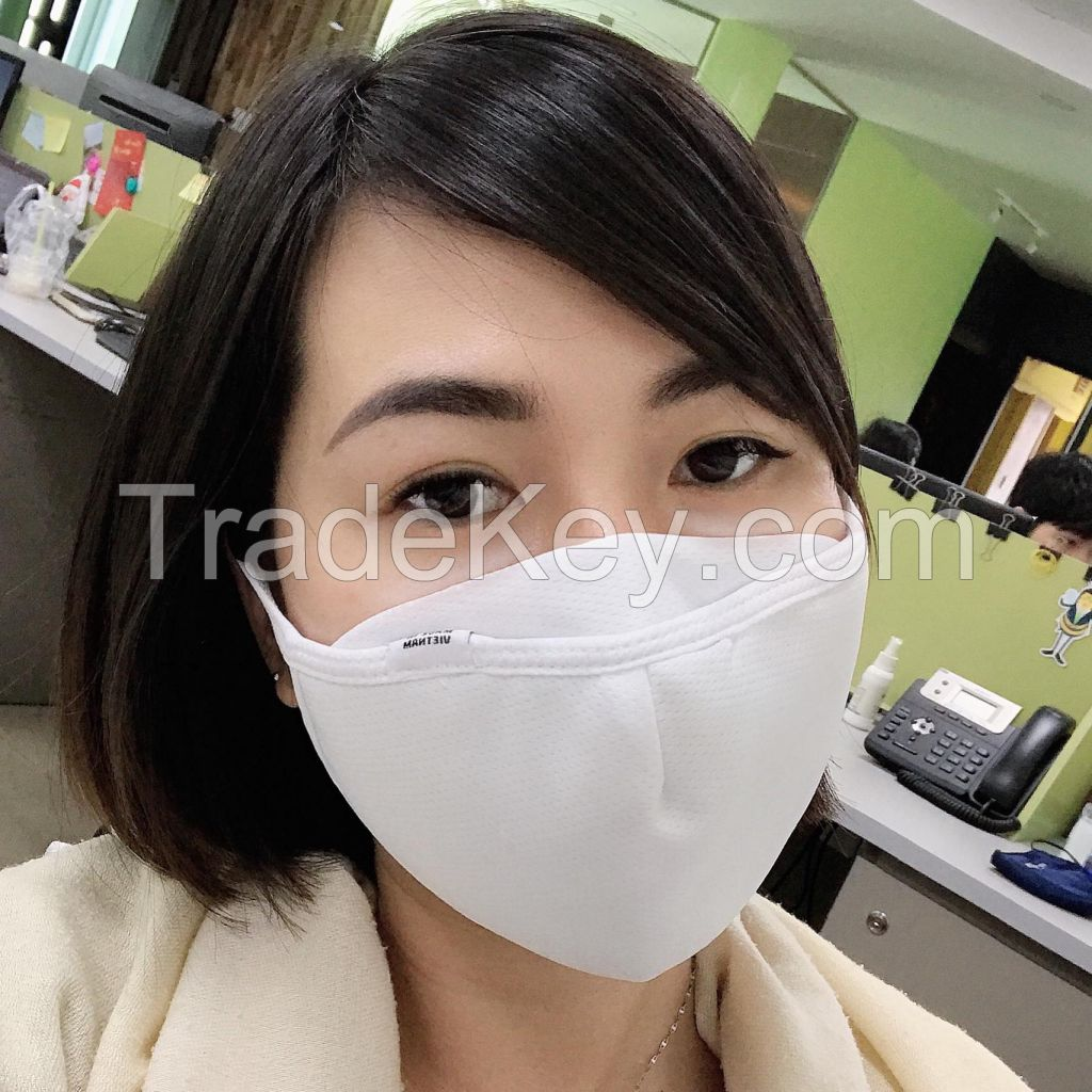 Colorful anti dust cotton fabric face mask Vietnamese cheap price good quality