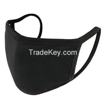 Durable Black Cotton Mouth Cover Face Dust Mask