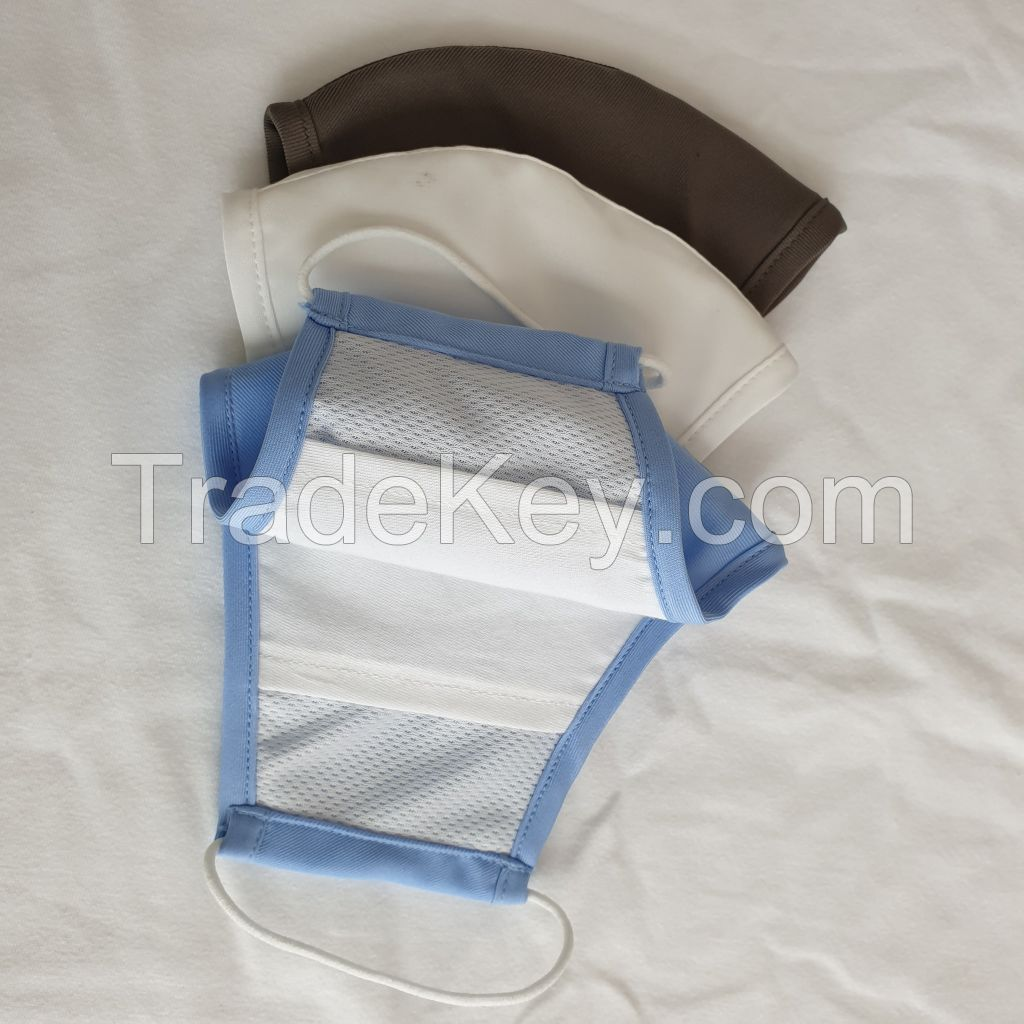 2020 hot sell cotton face mask with pocket for filter made in Vietnam
