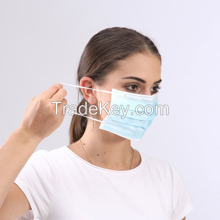CE FDA Standard Disposable Medical 4 Ply Surgical Mask