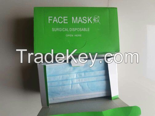 Disposable surgical Mask 3 ply / KN95/ N95