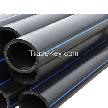 Black HDPE Plastic Water Supply Pipe Dredge Pipe