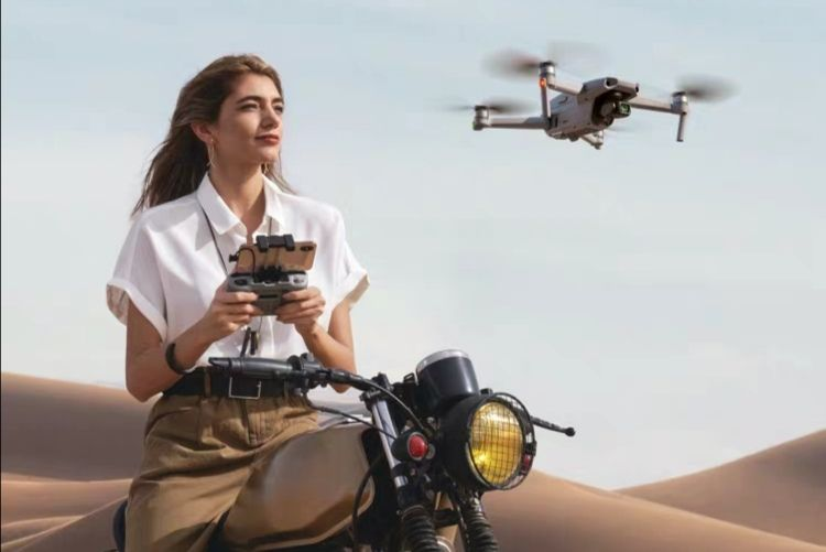 Yu Mavic Air 2 tragbare faltbare Luftdrohne Luftbildkamera 4K HD professionelles Luftfahrzeug