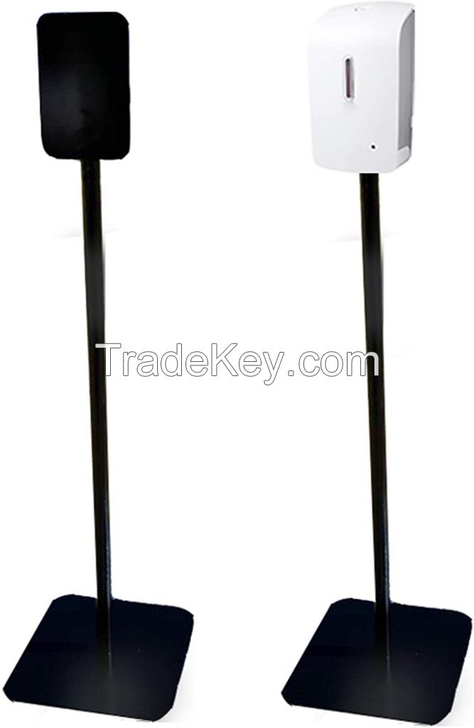 Automatic Touchless Universal Hand Sanitizer Dispenser and Floor Stand Station Kit, Made in USA
