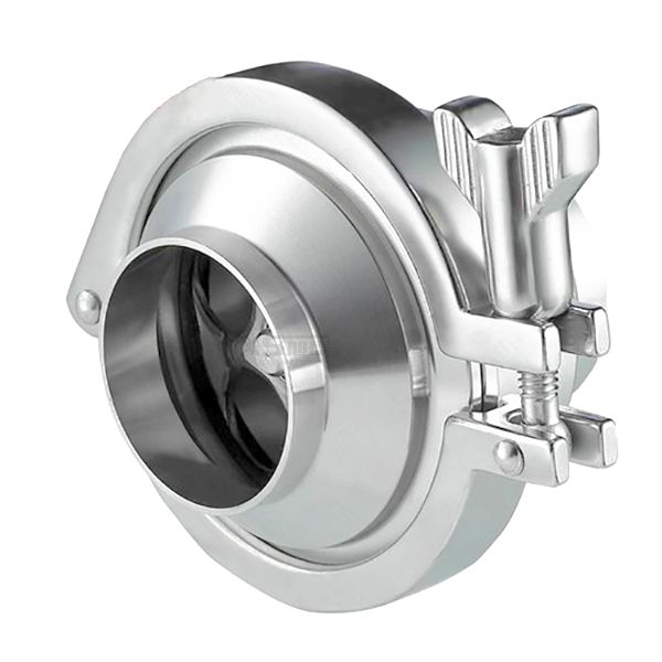 3A SMS DIN Food Grade Sanitary Stainless Steel nrv Check Valve