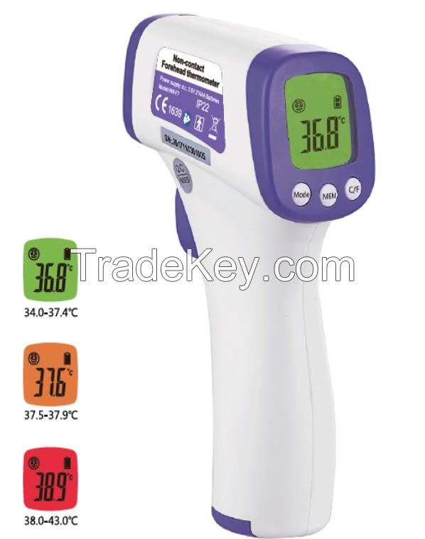 Non-contact infrared (forehead) thermometer