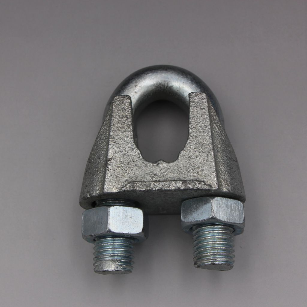 DIN741 DIN1142 a Type U. S. Type Forged/Casting Wire Rope Clamps